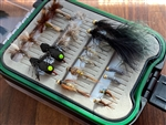 LUND'S FLY SHOP TROUT FLY ASSORTMENT & BOX