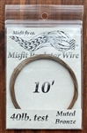 MISFIT PREDATOR WIRE - TIEABLE STAINLESS - BRONZE