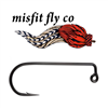 MISFIT JIG STREAMER HOOK 25pk