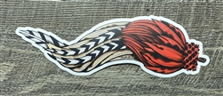 "MISFIT FLY CO ""BIG FLY"" DECAL"