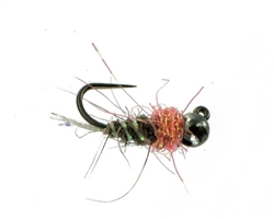 B SMO'S GREY SQUIRREL JIG NYMPH