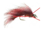B Smo's X-Legged Mini Leech - Red