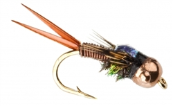 NYMPH HEAD TUNGSTEN COPPER JOHN BROWN