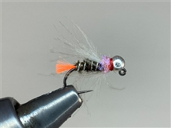 LUND'S BLOWDART PEACOCK & ORANGE