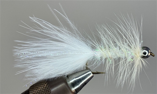 WHITE WOOLLY BUGGER
