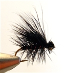 ELK HAIR CADDIS ALL BLACK