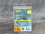 RIO POWERFLEX TROUT LEADER 7.5FT - 3 PACK