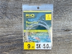 RIO POWERFLEX TROUT LEADER 9FT - 3 PACK