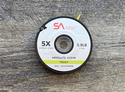 SA ABSOLUTE TROUT TIPPET - CLEAR