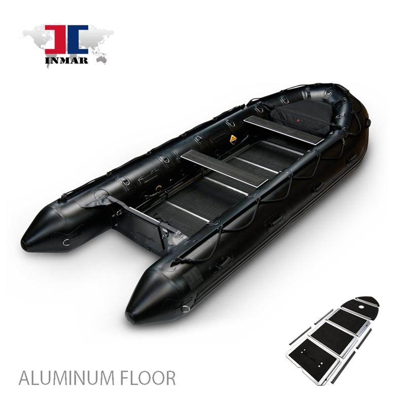 Inmar 530 Mil Aluminum Floor Military Series Inflatable