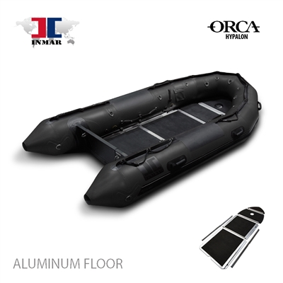 INMAR-380-MIL-HYP-ST aluminum floor-Military-Series-Inflatable-Boat-Hypalon
