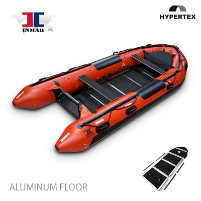 inmar, 470 aluminum floor, dive and rescue inflatable boat