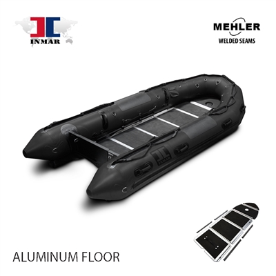 INMAR-430-MIL-HD-ST aluminum floor Military Series Inflatable Boat Welded Seams