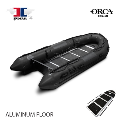 INMAR-430-MIL-HYP-ST aluminum floor-Military-Series-Inflatable-Boat-Hypalon