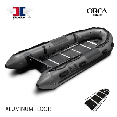 INMAR-430-PT-HYP-ST aluminum floor-Military-Patrol-Search-Series-Inflatable-Boat-Hypalon