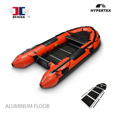 inmar, 430 aluminum floor, dive and rescue inflatable boat