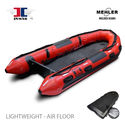 INMAR-430-SR-L-HD rapid deploy floor Patrol, search & rescue Series Inflatable Boat Welded Seams