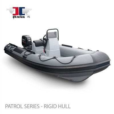 "470R-PT (15'6"") Patrol Series (Rigid Hull) Inflatable Boat w/ Suzuki 60hp"