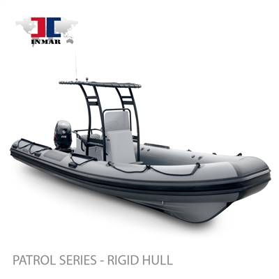 "600R-PT (20'2"") Patrol Series (Rigid Hull) Inflatable Boat w/ Suzuki 115hp"
