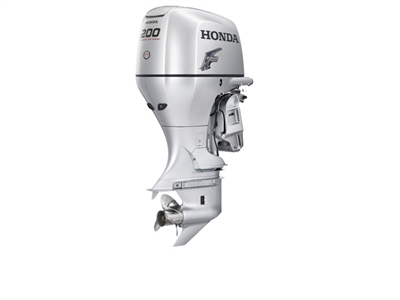 "Honda 200 hp, BF200AK2XA, 4-stroke, 25"" - Electric Start  - Remote Steering - Power trim and tilt"