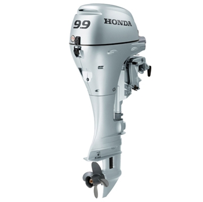 "Honda 9.9 HP, BFP10D3LRT, 4-stroke, 20"", Electric Start, Remote Steering, Power Thrust Design"
