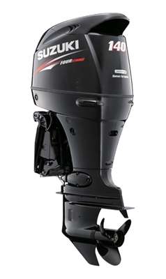 "Suzuki 140hp DF140ATXZ, 4-stroke, 25"" Extra Long Shaft - Electric Start - Remote Steering - Counter Rotation"