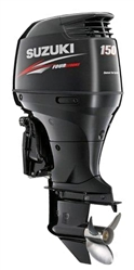 "Suzuki 150hp DF150TGXZ, 4-stroke, 25"" Extra Long Shaft - Electric Start - Remote Steering - Counter Rotation"