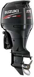 "Suzuki 175hp DF175TX, 4-stroke, 25"" Long Shaft - Electric Start - Remote Steering"