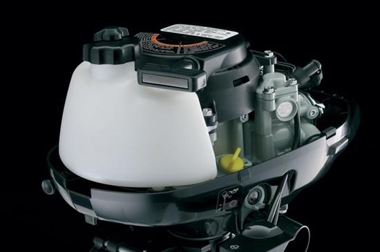 Suzuki 2 5hp DF2 5S, 4-stroke, 15