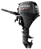 "Suzuki DF20AS, 4 stroke 20hp, Tiller handle, Manual Start, 15"" Shaft"