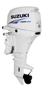 "Suzuki 50hp DF50ATLW, 4-stroke, 20"" Long Shaft - Electric Start - Remote Stering"