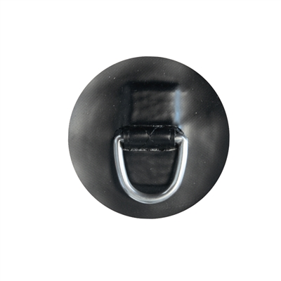 "Black interior ""D"" Ring - ::PVC::"
