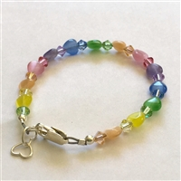 Kids at Heart Bracelet - Rainbow Bright