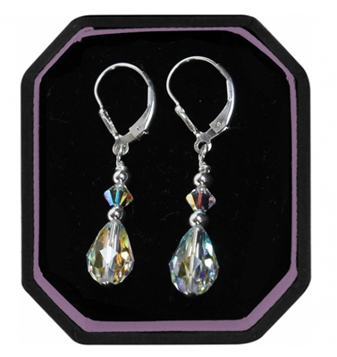 "Swarovski ""Rain Drops"" earrings"