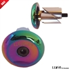 Aluminum Bar Ends LUFA Pro Scooters Bar Plugs Neo Chrome