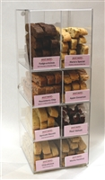 Sweet Maria's Fresh Baked Biscotti - Opening Order with Free Acrylic display case