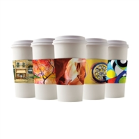 JAVA ART COFFEE CUP SLEEVES - ORIGINAL ART