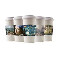JAVA ART COFFEE CUP SLEEVES - WORLD ART