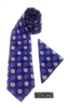 Ghanaian Mythical Two-Headed Crocodile - Neck Tie Set DC237A