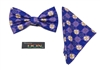 Ghanaian Mythical Two-Headed Crocodile - Unity Tied Bow Tie DC237ATBT