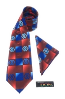 EPA - Justice Necktie With Hanky DC241A