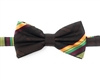 Kente (Dignity) Pre-Tied Bow Tie Set With Matching Hanky DD101PTBT