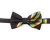 Kente (Dignity) Pre-Tied Bow Tie Set With Matching Hanky DD101PTBT3
