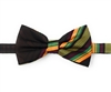 Kente (Dignity) Pre-Tied Bow Tie Set With Matching Hanky DD101PTBT4