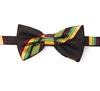 Kente (Dignity) Pre-Tied Bow Tie Set With Matching Hanky DD101PTBT6