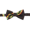 Kente (Dignity) Pre-Tied Bow Tie Set With Matching Hanky DD101PTBT7