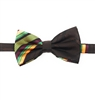 Kente (Dignity) Pre-Tied Bow Tie Set With Matching Hanky DD101PTBT8