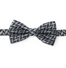 Charcoal Abstract Pre-Tied Bow Tie Set - Includes Matching Pocket Square DPTBT411