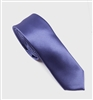 Blue With A Hint of Violet Solid Skinny Silk Tie (Tie Only) DSK145