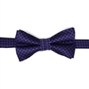 Navy Base with Purple Squares and Lavender Mini Dots SWBH-1409